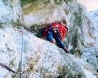 """1984. Paolino """"Cipo"""" sul 3° tiro GFOSA"""