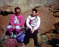 1990. Gianni e Romano in Sinai